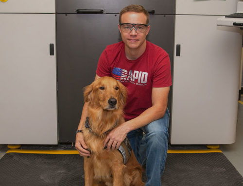 3-D Printing Parts? Helping Veterans? Serving The Community? All In A Day's Work For Terry Hill